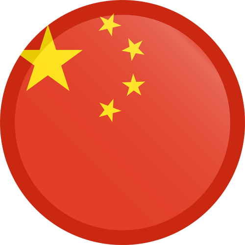 china-flag-button-round-small